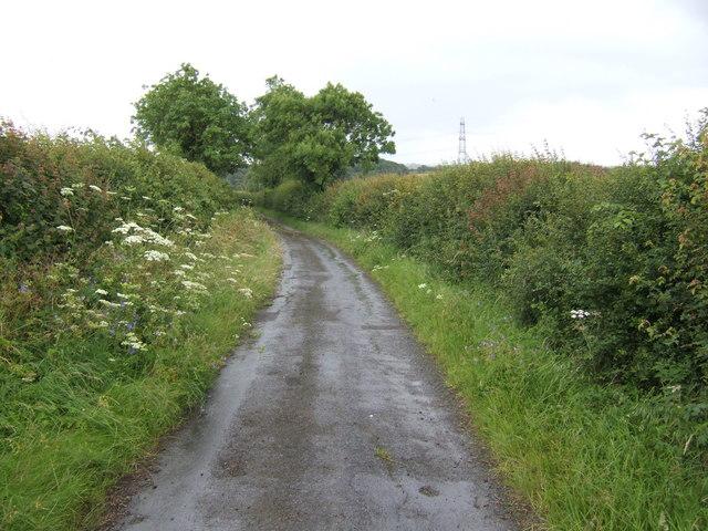 Dead-end lane