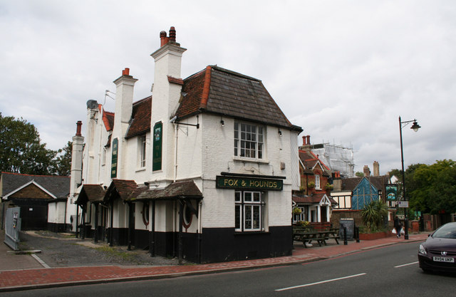 The 'Fox and Hounds', Carshalton, Surrey
