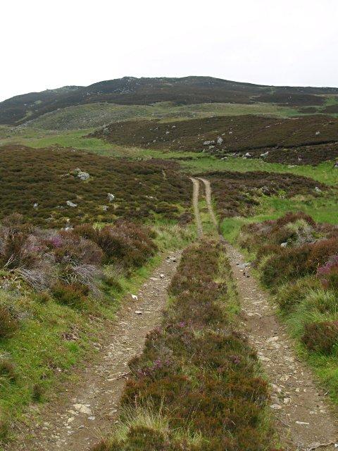 Track to Pitcarmick Loch