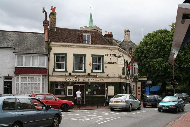 The 'Coach and Horses', Carshalton, Surrey