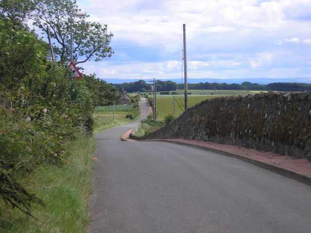 The Back Road from Colinsburgh to Kilconquhar