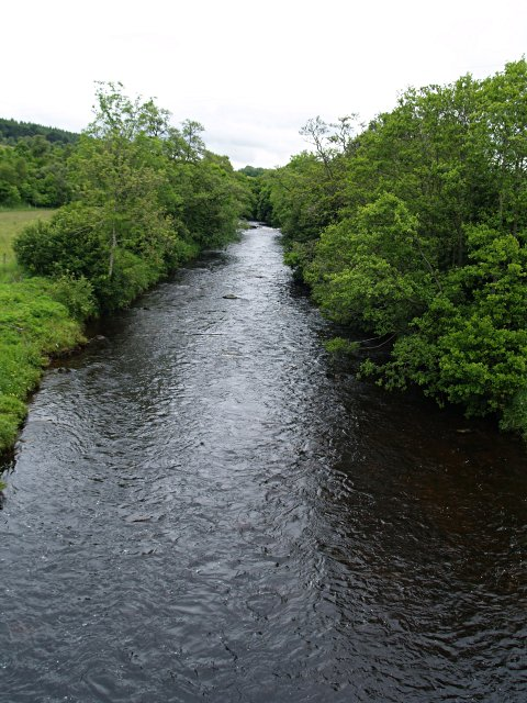 River Ardle from Pitcarmick bridge
