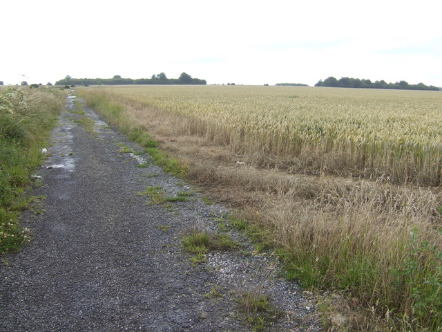 View north of the Bulford Droveway