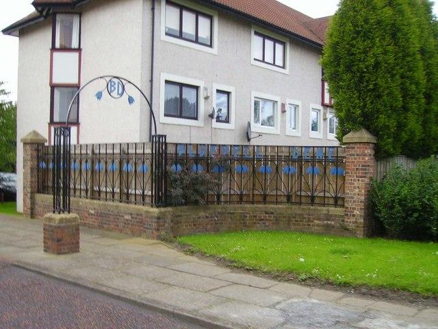 Entrance to Bluebell Dene