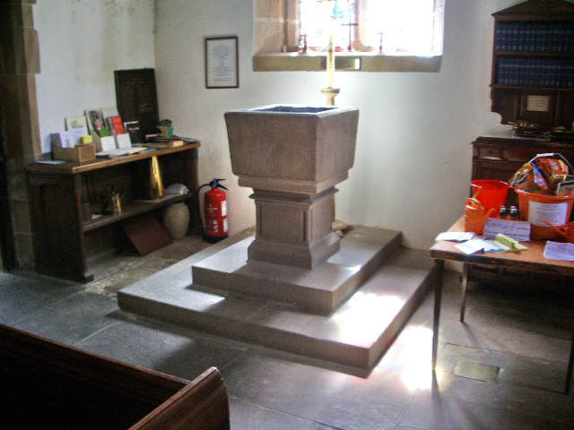 Font, The Parish Church of St Mary the Virgin, Goosnargh