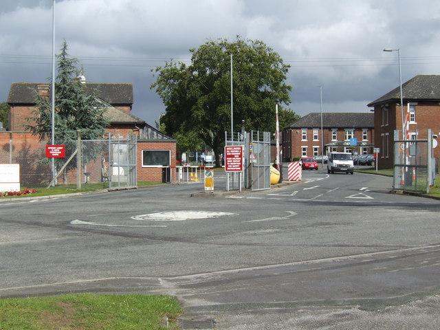 Boscombe Down; main entrance