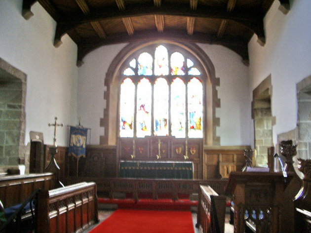 Altar, The Parish Church of St Mary the Virgin, Goosnargh