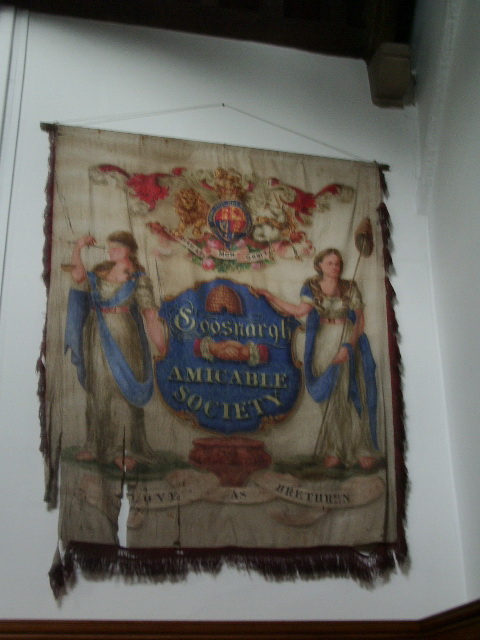 Banner,The Parish Church of St Mary the Virgin, Goosnargh