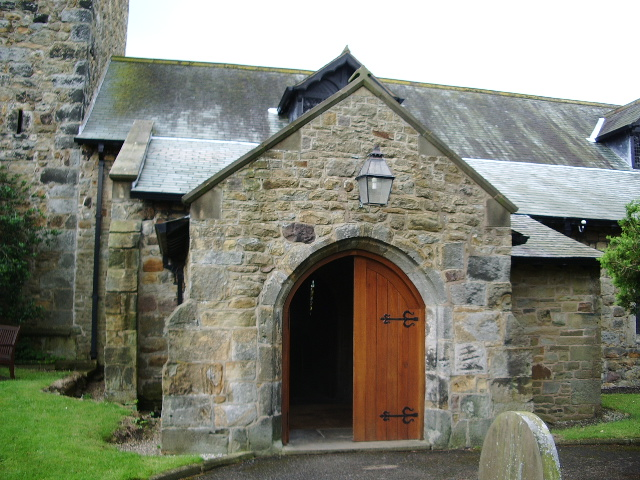 Porch, The Parish Church of St Mary the Virgin, Goosnargh
