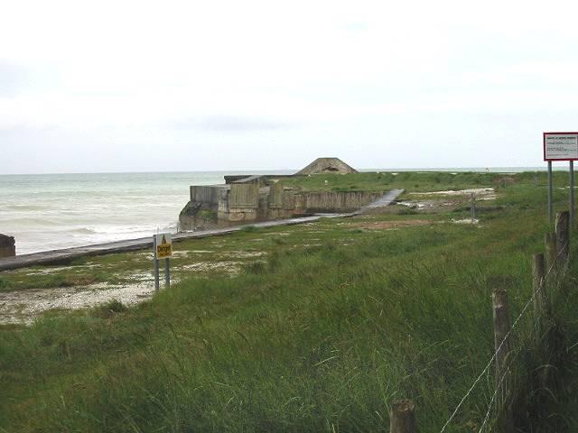 Part of the military firing range