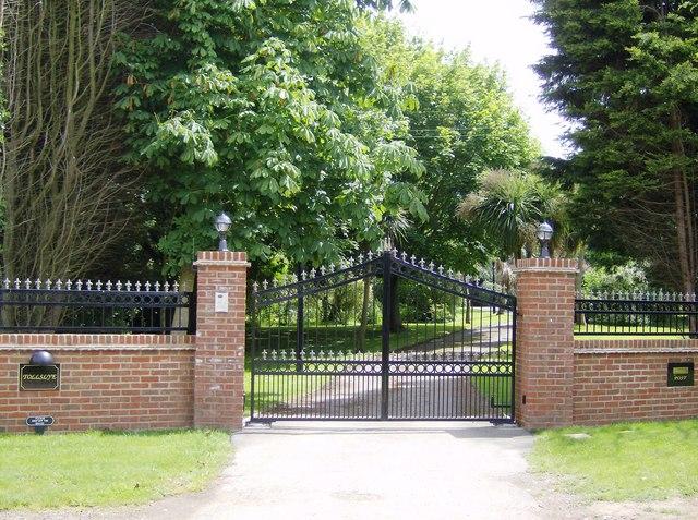 Gates of Merston Manor