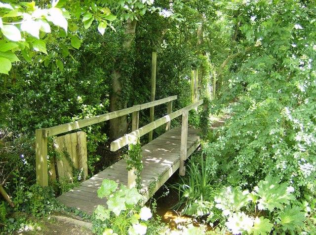 Footbridge near Blackwater