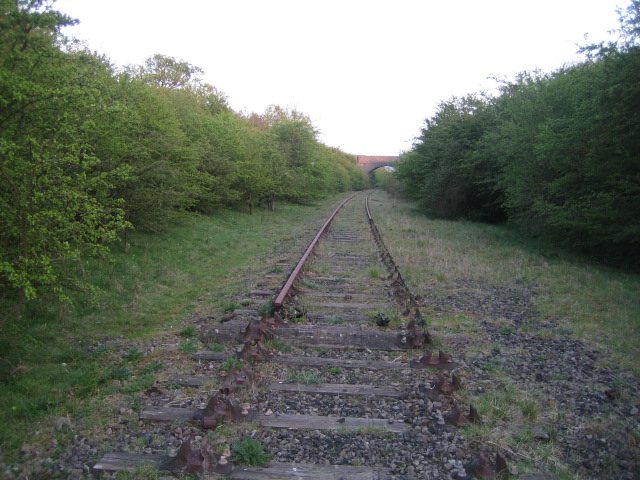 Disused railway looking south