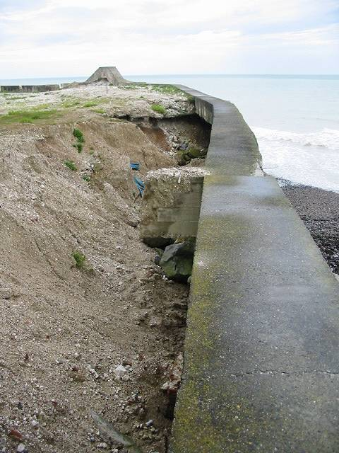 Erosion at work