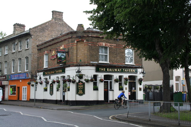 The 'Railway Tavern', Carshalton, Surrey