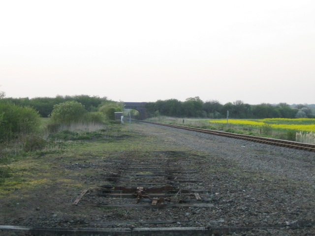 Former railway junction