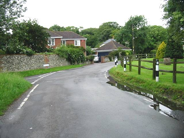 View along Back Street, Ringwould