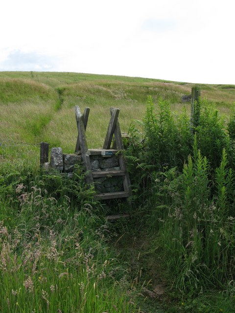 The Pennine Way south of Bellingham