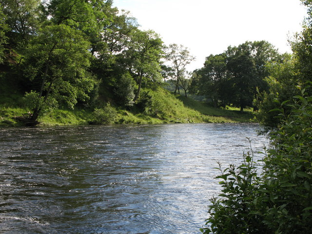 The River North Tyne near The Green