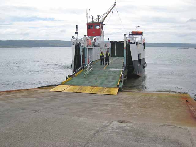 The Gigha ferry