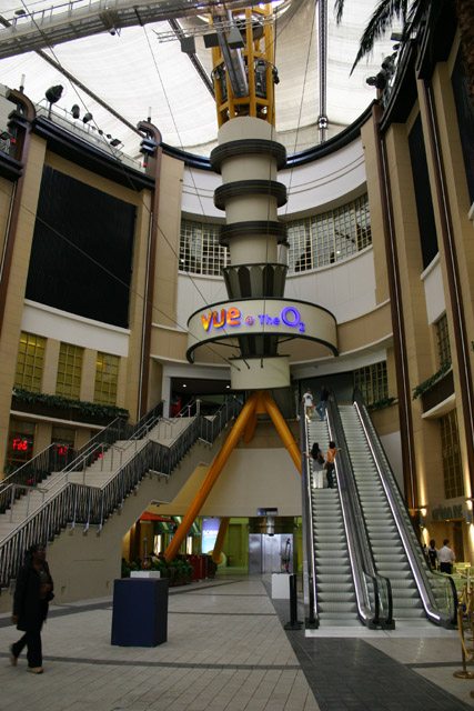 Entrance to Cinema area in 02