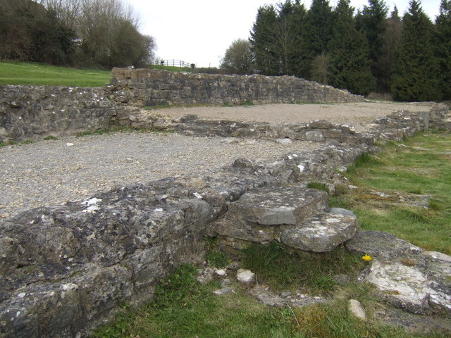 Roman steps and walls