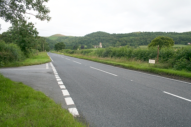 Junctions of Hancock's Lane and Watery Lane with A4104
