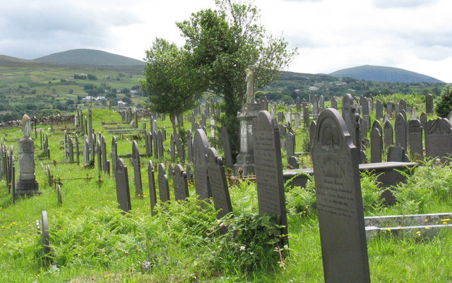 The cemetery of St Michael's in the Heather Church