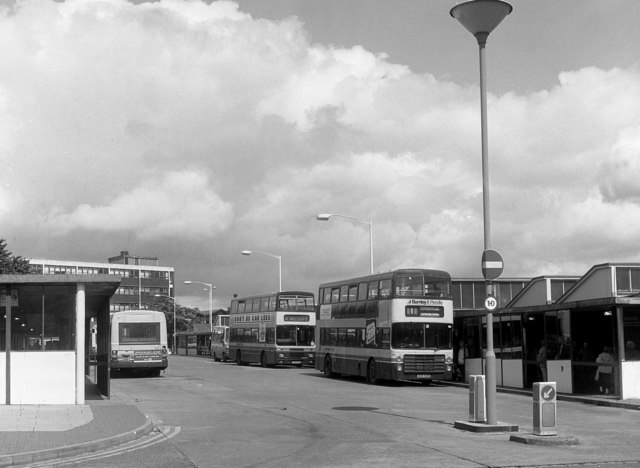 Burnley Bus Station, Lancashire