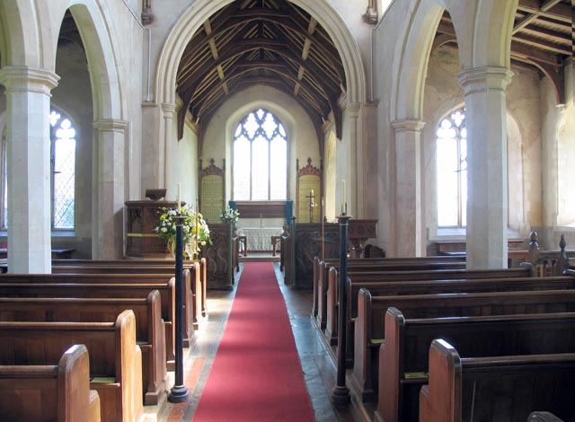 St Peter, Ringland, Norfolk - East end