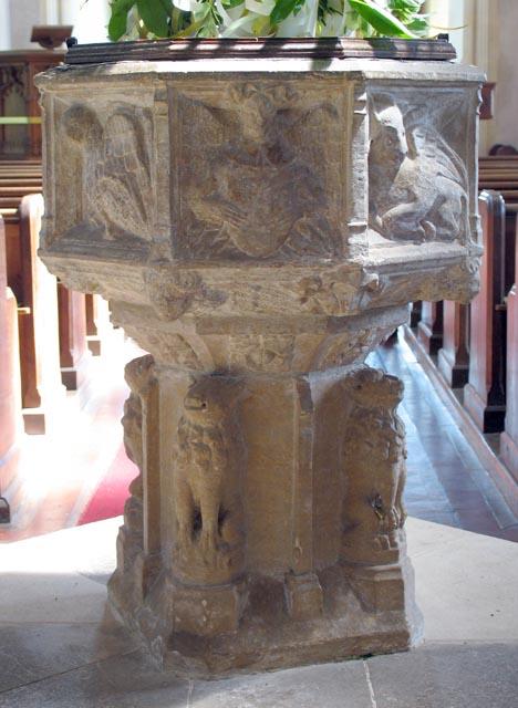 St Peter, Ringland, Norfolk - Font