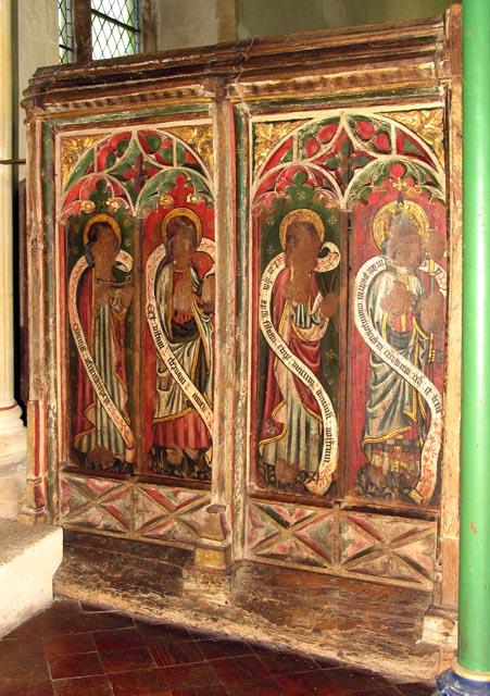 St Peter, Ringland, Norfolk - Screen