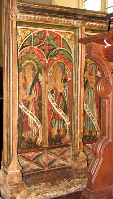 St Peter, Ringland, Norfolk - Screen
