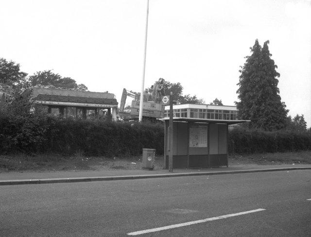 Demolition of John Ruskin School, Upper Shirley Road, Croydon