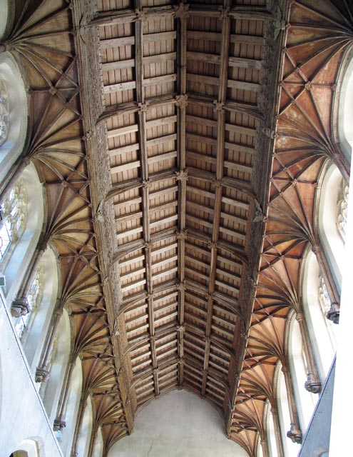 St Peter, Ringland, Norfolk - Roof