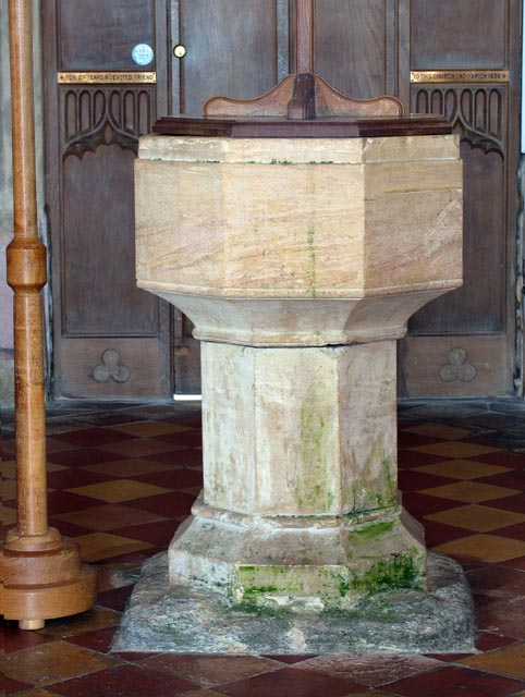 St Mary, West Somerton, Norfolk - Font