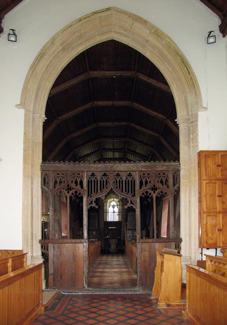 St Mary, West Somerton, Norfolk - West end