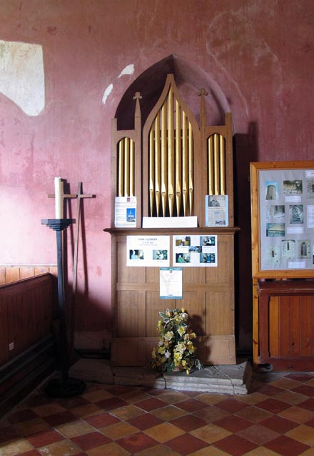 St Mary, West Somerton, Norfolk - Organ