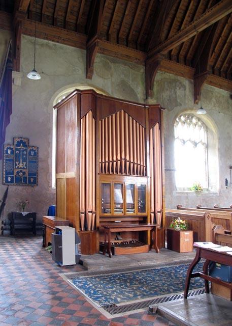 Holy Trinity & All Saints, Winterton-on-Sea, Norfolk - Organ