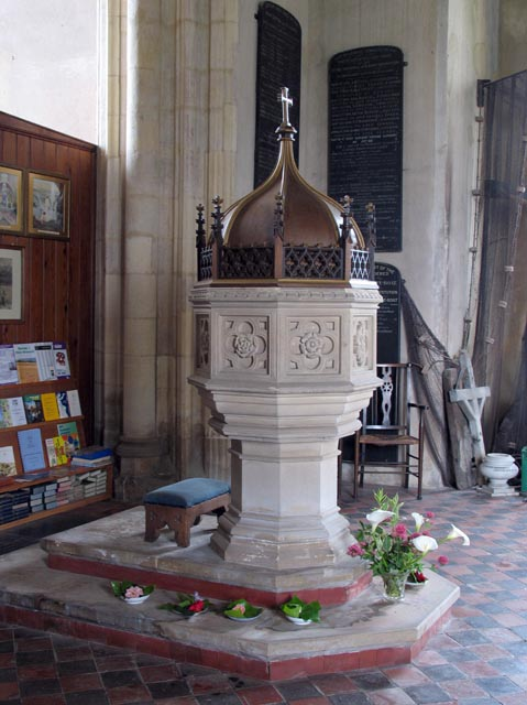 Holy Trinity & All Saints, Winterton-on-Sea, Norfolk - Font