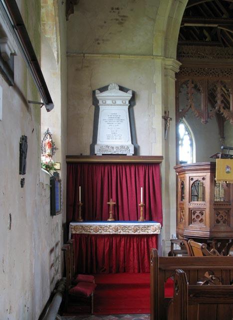 Holy Trinity & All Saints, Winterton-on-Sea, Norfolk - North Altar
