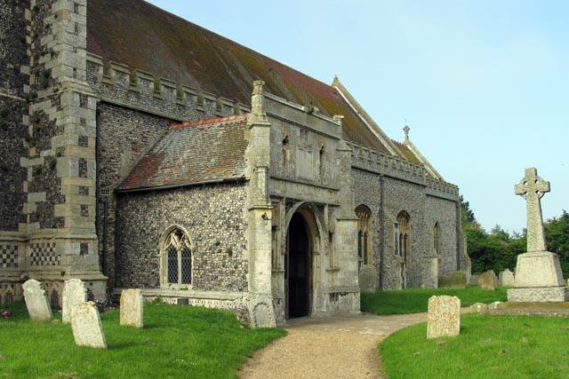 Holy Trinity & All Saints, Winterton-on-Sea, Norfolk - Porch