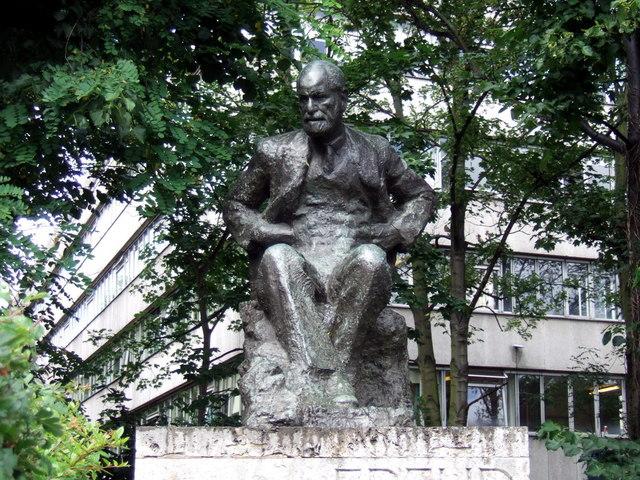 Sigmund Freud in Hampstead