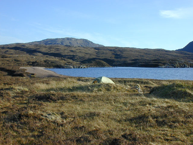 Sheiling at the end of Lochan Fhada