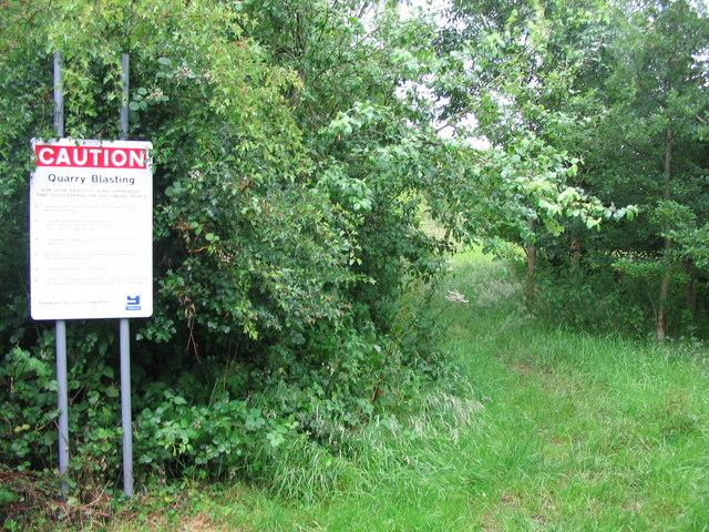 Bridleway near Cranmore