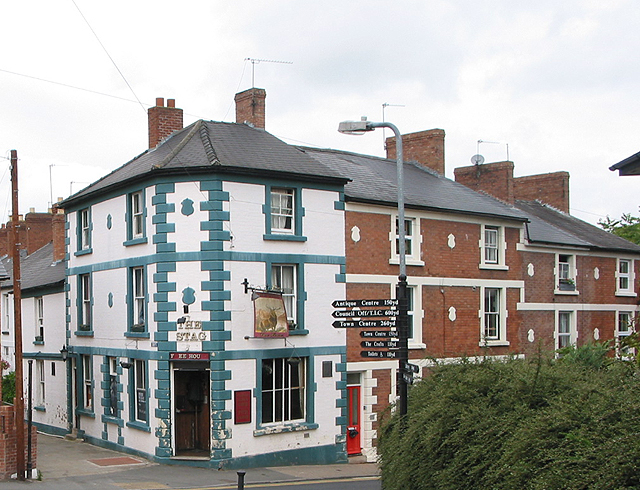 The Stag public house Henry Street Ross-on-Wye