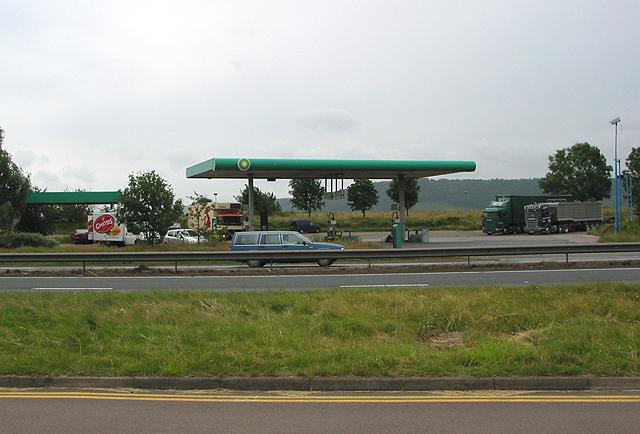 Service area on A449