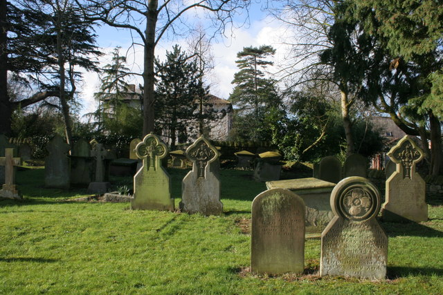 St Mary's Churchyard & The Old Rectory in the background