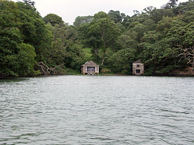 Boat Houses near Tregothnan