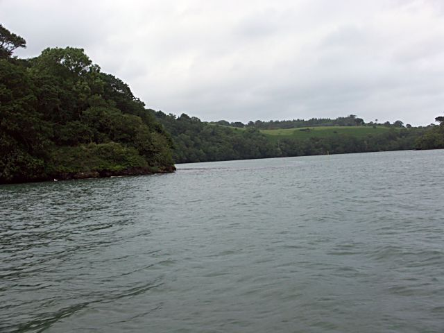 Confluence of  the River Fal and Truro Rivers